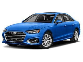 2021 Audi A4 Sedan Turbo Blue