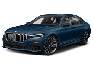 2021 BMW 750i Sedan Phytonic Blue Metallic