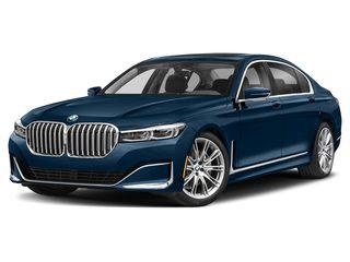 2021 BMW 740i Sedan Phytonic Blue Metallic