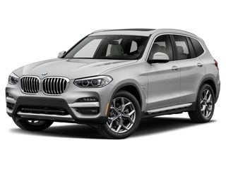 2021 BMW X3 PHEV SAV Mineral White Metallic