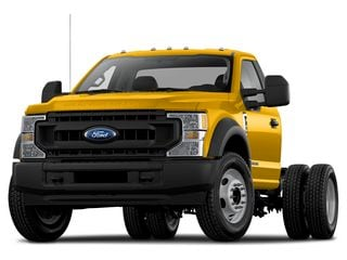 2021 Ford F-450 Chassis Truck Yellow