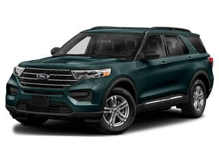 2021 Ford Explorer SUV Forged Green Metallic