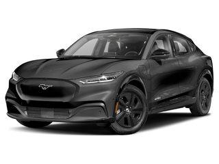 2021 Ford Mustang Mach-E SUV Dark Matter Gray Matallic