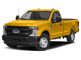 2021 Ford F-350 Truck Yellow