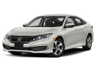 2021 Honda Civic Sedan Platinum White Pearl