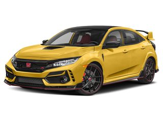 2021 Honda Civic Type R Hatchback Phoenix Yellow