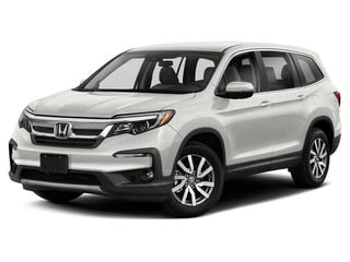 2021 Honda Pilot SUV Platinum White Pearl