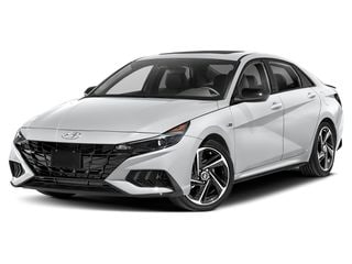 2021 Hyundai Elantra Sedan Ceramic White