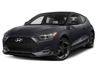 2021 Hyundai Veloster Hatchback Thunder Gray w/Black Roof