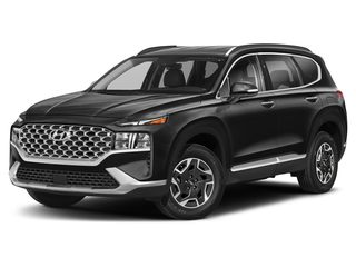 2021 Hyundai Santa Fe Hybrid SUV Twilight Black