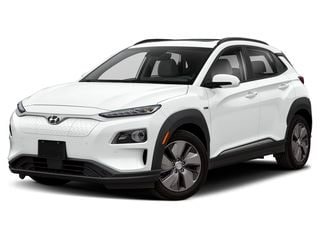 2021 Hyundai Kona EV SUV Lunar White