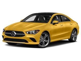 2021 Mercedes-Benz CLA 250 Sedan Sun Yellow