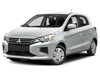 2021 Mitsubishi Mirage Hatchback Starlight Silver Metallic
