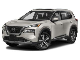 2021 Nissan Rogue SUV Champagne Silver Metallic