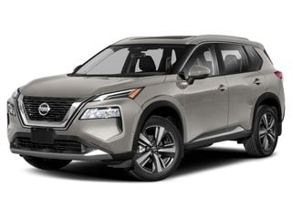 2021 Nissan Rogue SUV Champagne Silver Metallic