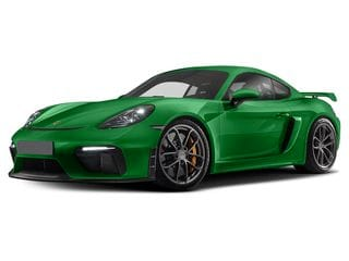 2021 Porsche 718 Cayman Coupe Python Green