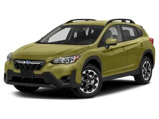 2021 Subaru Crosstrek SUV Plasma Yellow Pearl