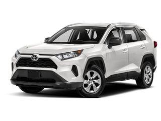 2021 Toyota RAV4 SUV Super White