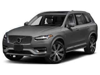 2021 Volvo XC90 Recharge Plug-In Hybrid SUV Thunder Gray Metallic