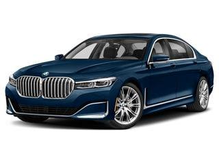 2022 BMW 740i Sedan Phytonic Blue Metallic
