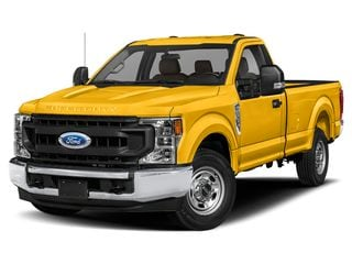 2022 Ford F-250 Truck Yellow