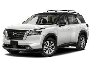 2022 Nissan Pathfinder SUV Pearl White Tricoat/Super Black