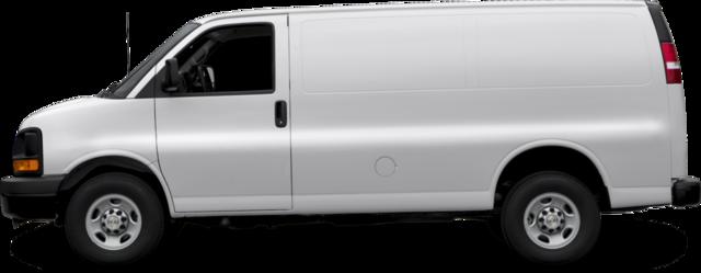 2017 Chevrolet Express 3500 Van Work Van