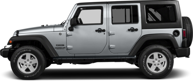 2017 Jeep Wrangler Unlimited SUV Sport RHD