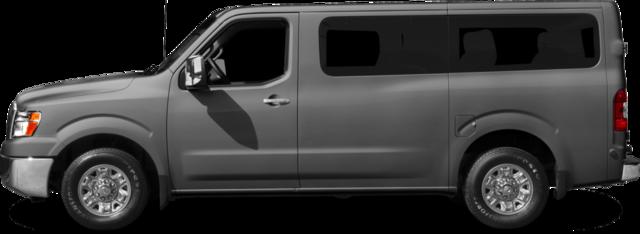 2017 Nissan NV Passenger NV3500 HD Van SV V8