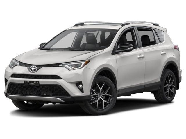 2017 Toyota RAV4 SE w/ Pre-Collision System & Premium Security System SUV