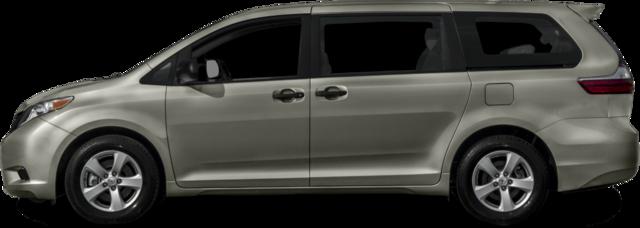 2017 Toyota Sienna Van L 7 Passenger