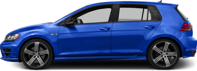 2017 Volkswagen Golf R Hatchback 4-Door 4MOTION