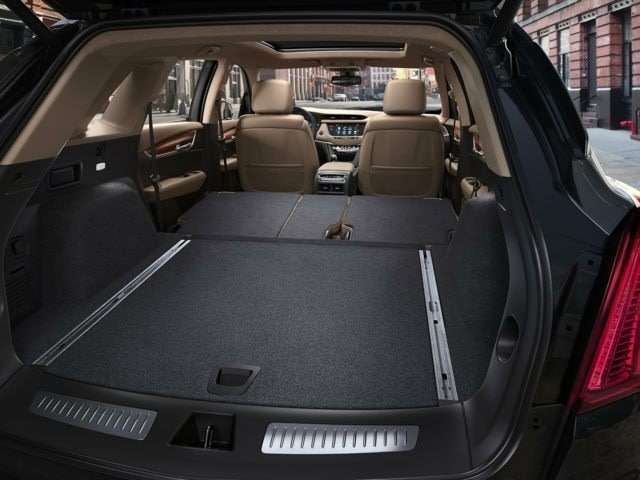 XT5 Rear Storage Space
