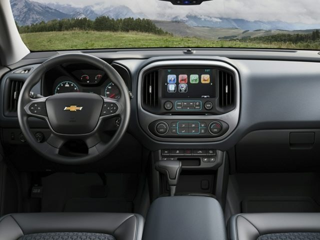 Chevrolet Colorado Driver Console