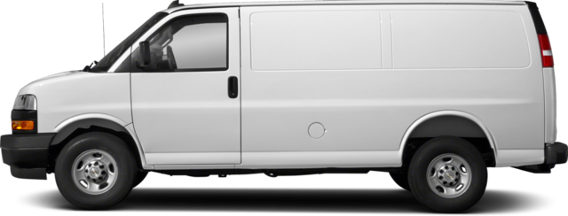 2018 Chevrolet Express 2500 Van Work Van