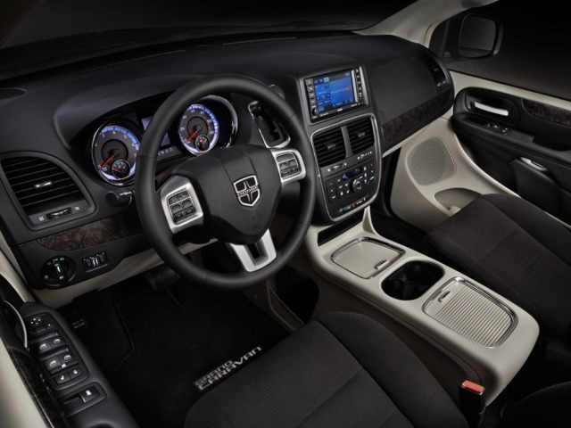 New Dodge Grand Caravan Interior