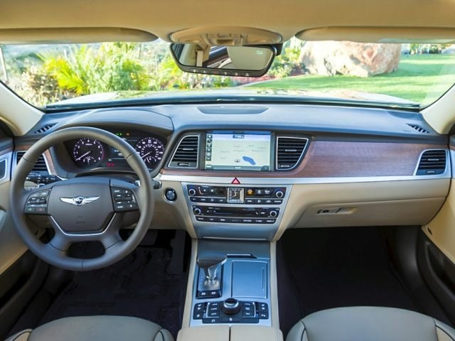 Genesis G80 5.0 Ultimate Interior