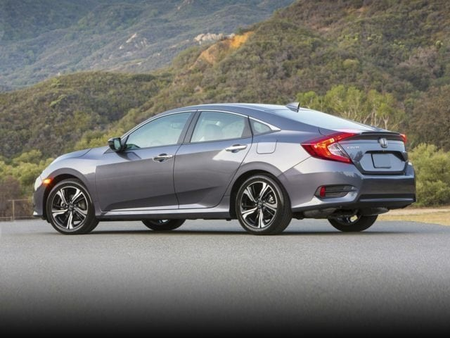 2018 Honda Civic Rear Exterior