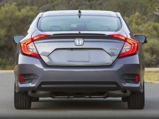 2018 Honda Civic Sedan Rear