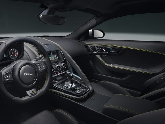 Jaguar F-TYPE interior Birmingham