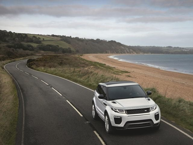 New Land Rover Range Rover Evoque Sudbury StockLJH - Range rover stock