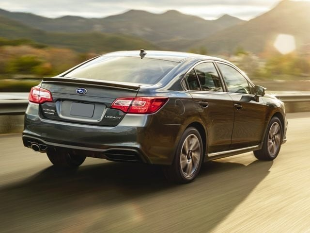 2018 Subaru Legacy Driving On A Dry Road