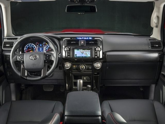 Toyota 4Runner Driver Console