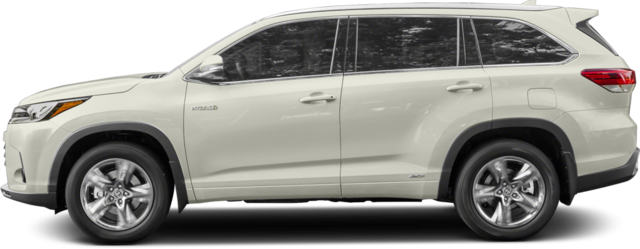 2018 Toyota Highlander Hybrid SUV Limited Platinum V6