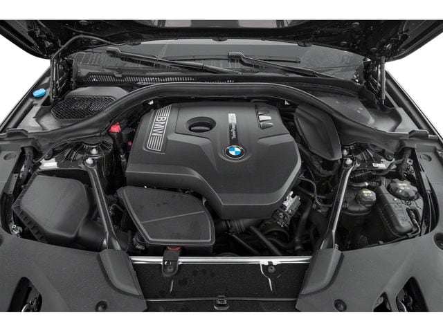 2019 BMW 5 Series Engine
