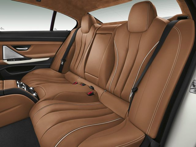 2019 BMW 6 Series Back Seat