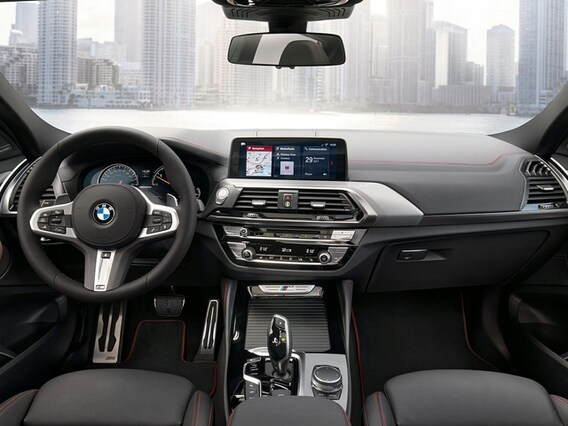 2019 BMW X4 Front Seat