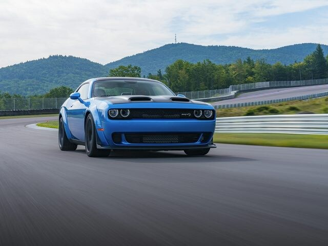 New 2019 Dodge Challenger SRT Hellcat Coupe Gray Clearcoat