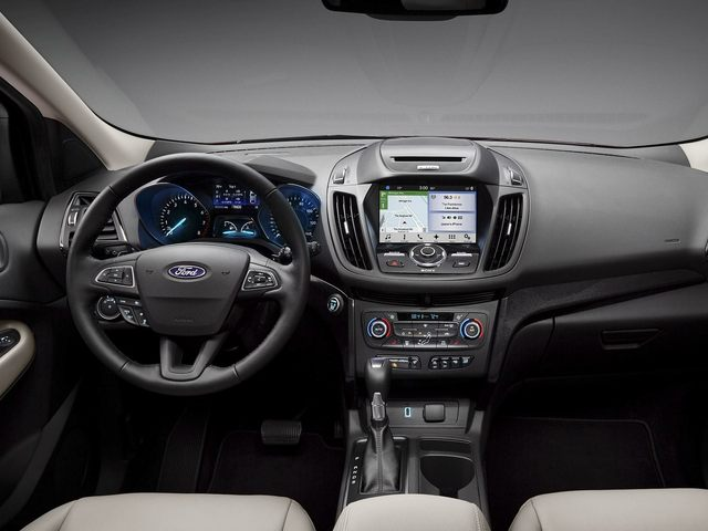 Ford Escape Driver Console