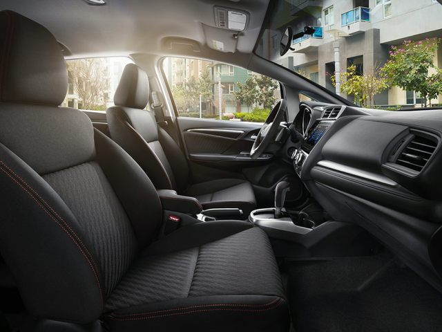 2019 Honda Fit Front Seat